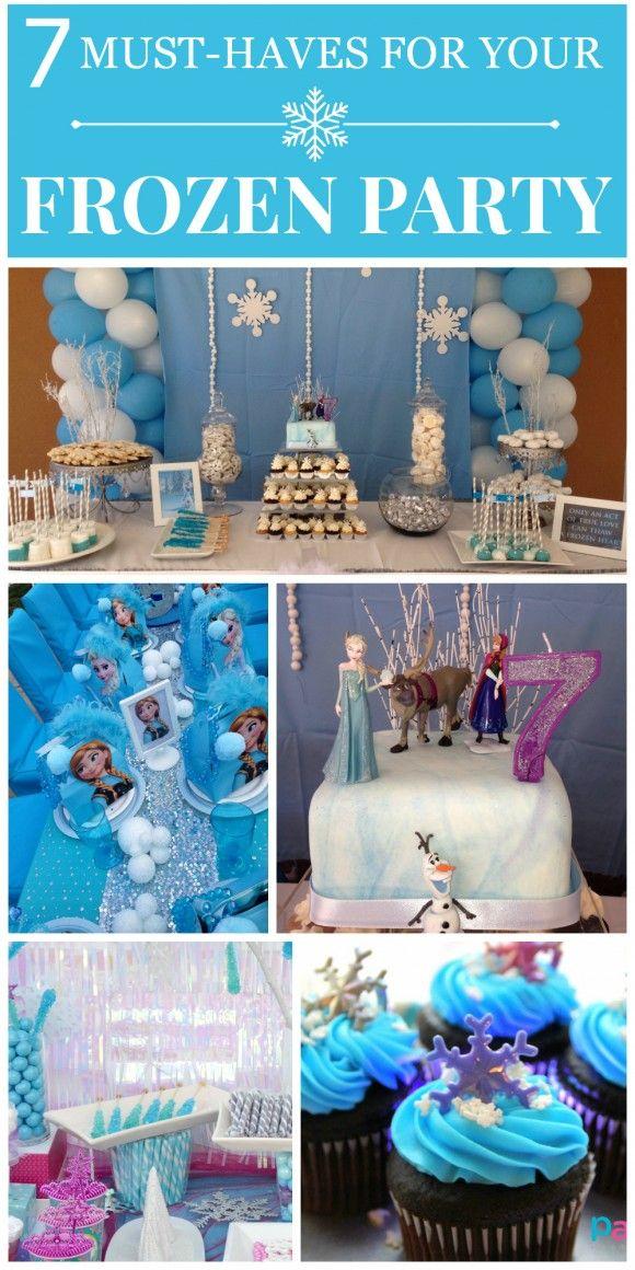 30 ideas para organizar una fiesta de frozen decoracion - Ideas para organizar tu casa ...