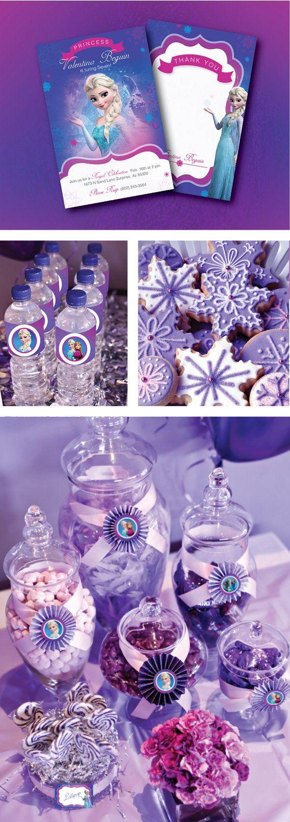 30 ideas para organizar una fiesta de frozen decoracion for Ideas de decoracion economicas