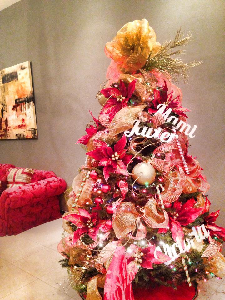 Ideas para decoracion de arbol de navidad 2015 - Arboles navidad decoracion ...