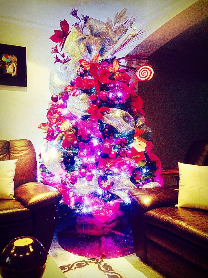 Decoracion de arboles de navidad peque os 2016 - Decoracion arbol navidad ...