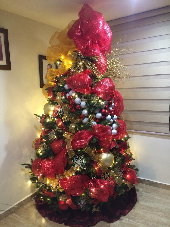 Arbol de navidad 2017 2018 decoracion de interiores for Decoracion para arboles navidenos