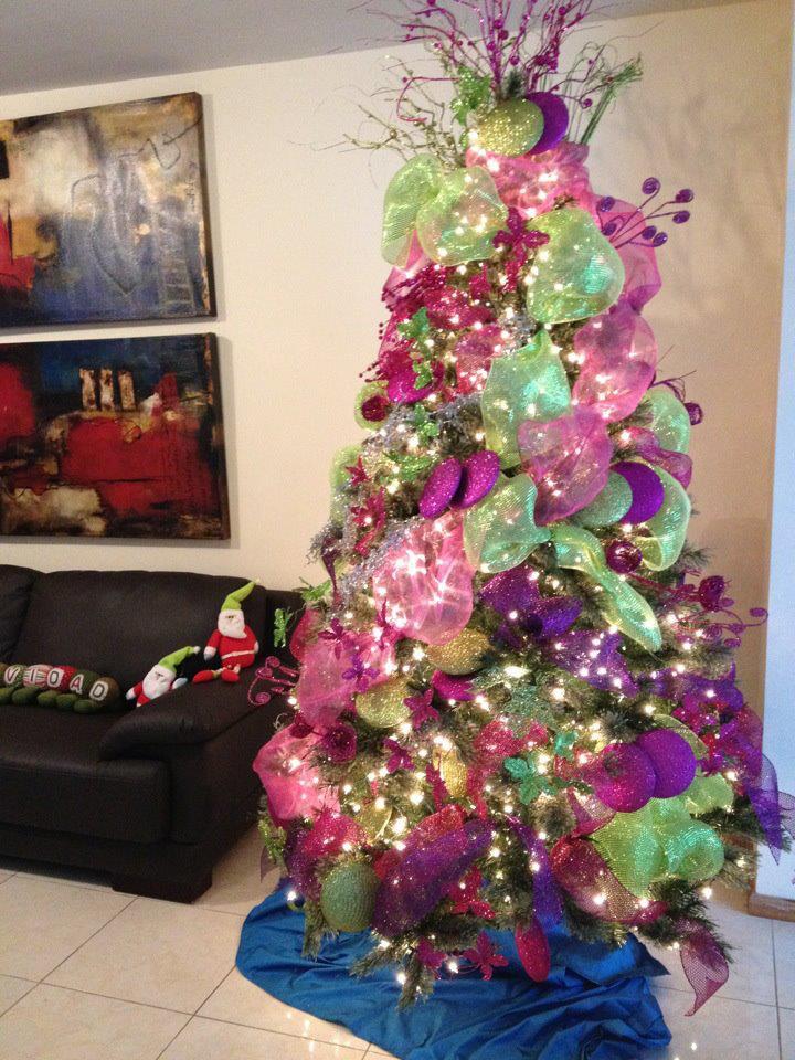 Arbol de navidad 2017 2018 decoracion de interiores - Arboles navidad decoracion ...