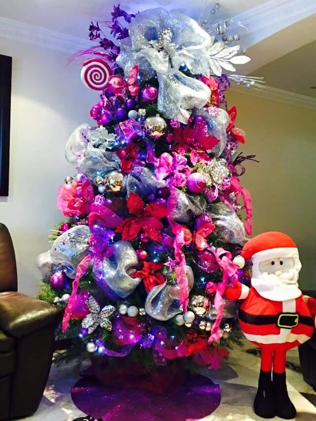 Ideas para decorar el arbol de navidad 2018 y 2017 y fotos - Como decorar un arbol de navidad azul ...