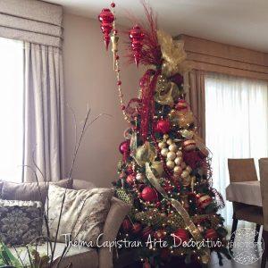 elementos decorativos del arbol de navidad
