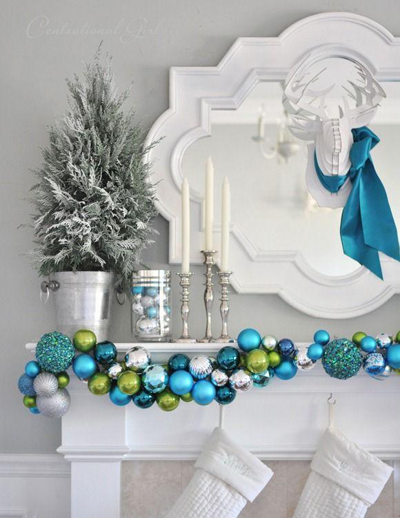 Ideas para hacer tus propios adornos de navidad 19 for Decoraciones de navidad para hacer en casa