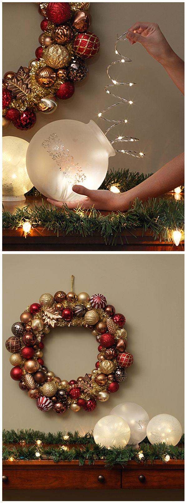 Ideas para hacer tus propios adornos de navidad 29 for Hacer decoracion de navidad