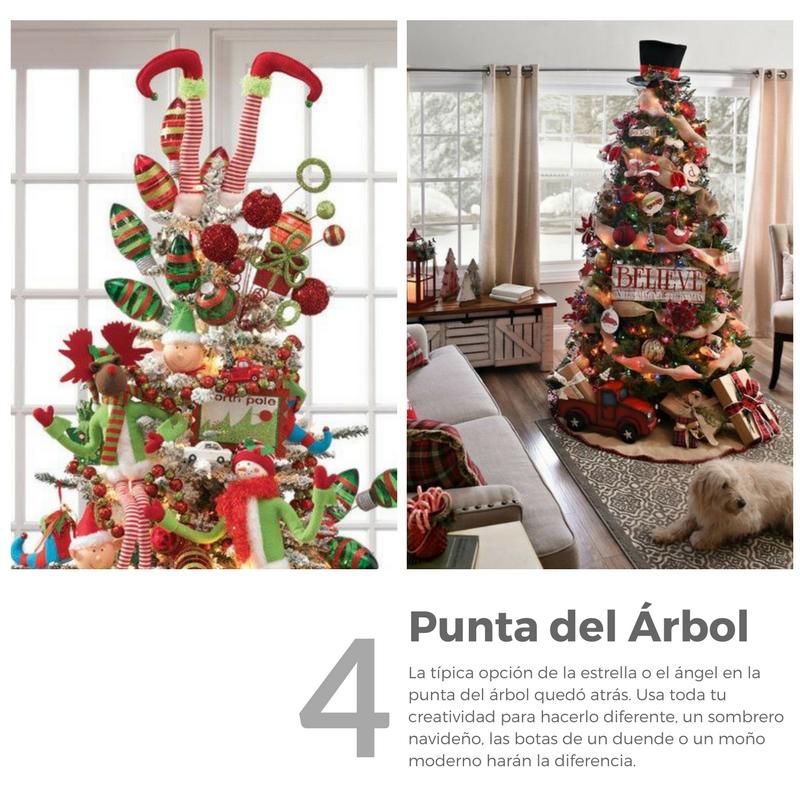 Pasos para decoracion del arbol de navidad decoracion de - Adornos del arbol de navidad ...