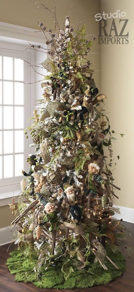 Pinos de navidad 14 decoracion de interiores fachadas for Decoracion hogar navidad 2014