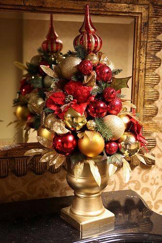 Pinos de navidad 16 decoracion de interiores fachadas - Decoracion arbol navidad 2015 ...