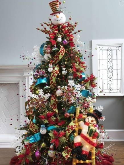 Pinos de navidad 2 decoracion de interiores fachadas - Fotos arboles navidad decorados ...