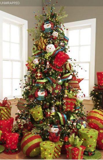 Ideas para decoracion de arbol de Navidad 2015 \u2013 2016