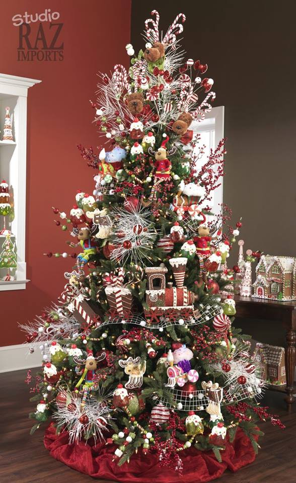 Decoracion de arboles de navidad blancos 2016 - Arboles navidad decoracion ...