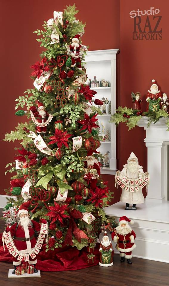 Ideas para decoracion de arbol de navidad 2017 2018 - Decoracion adornos navidenos ...