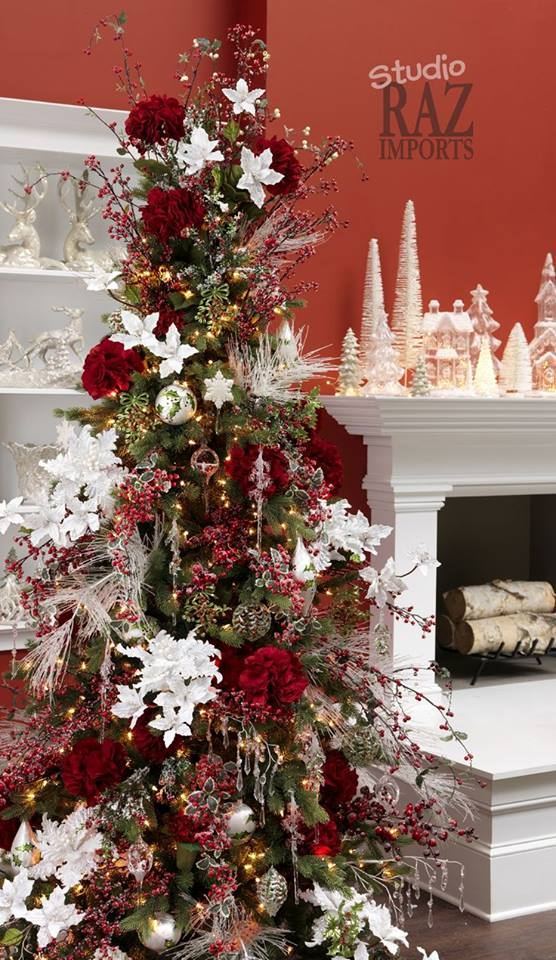 Arbol de navidad 2017 2018 decoracion de interiores for Decoracion hogar navidad 2014