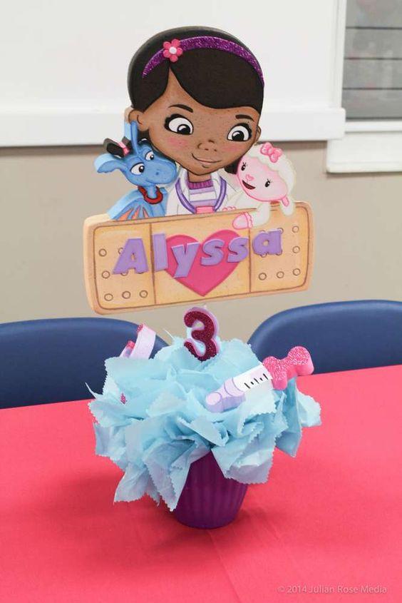 centros de mesa de doctora juguetes (3)