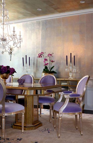 Comedores ultra violet 3 decoracion de interiores for Fachadas de comedores