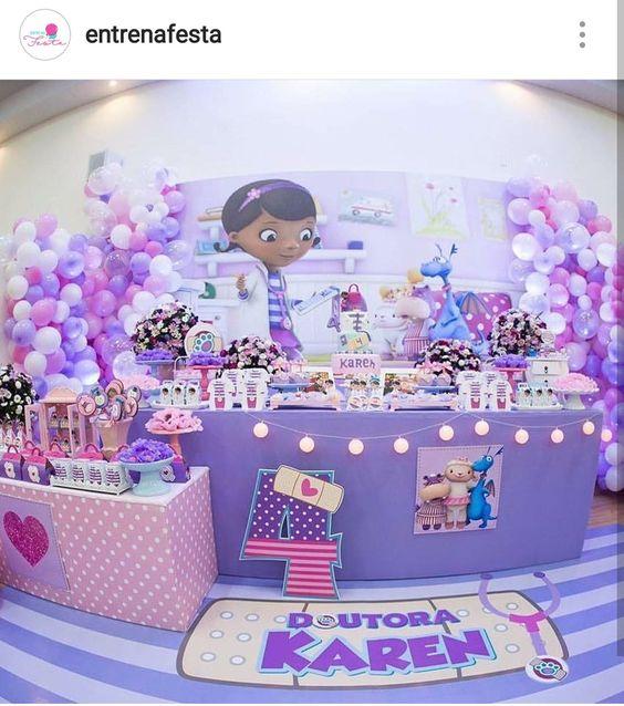 decoracion para una fiesta de doctora juguetes (3)