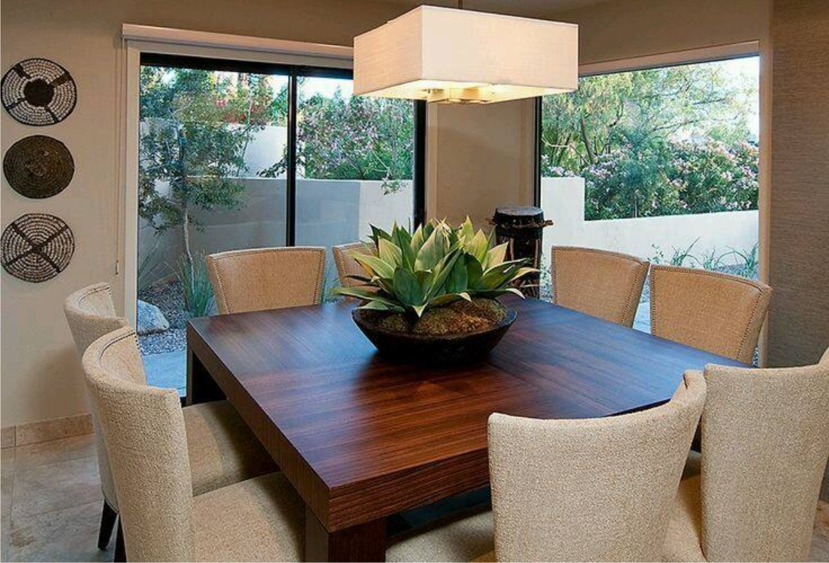 Dinning room decoration ideas for Decoraciones de casas modernas 2016