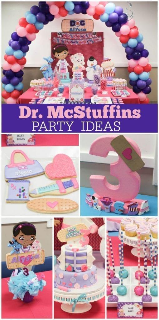 Ideas Doctora De Fiesta JuguetesTendencias En Fiestas Para Infantiles b76gyfvY