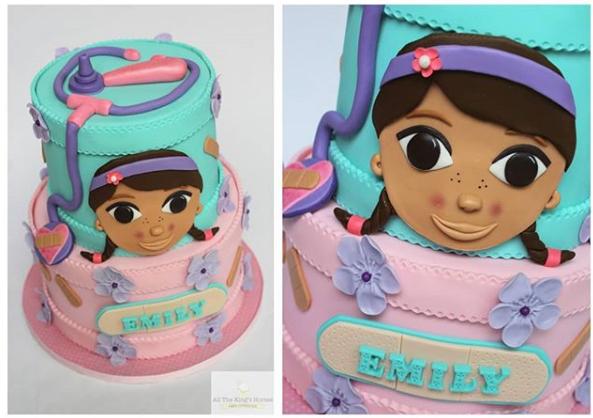 pasteles para fiesta de doctora juguetes (5)
