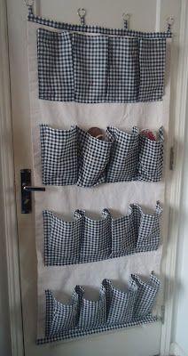 Como hacer un organizador de ropa colgante