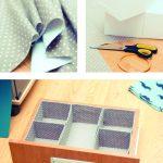 Como hacer un organizador de ropa interior