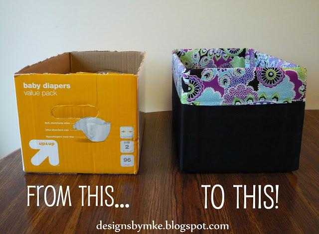 Como hacer un organizador de ropa interior de cartón