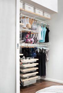 como organizar closet ropa interior