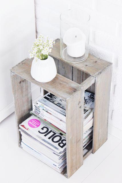 reutilizar cajas de madera