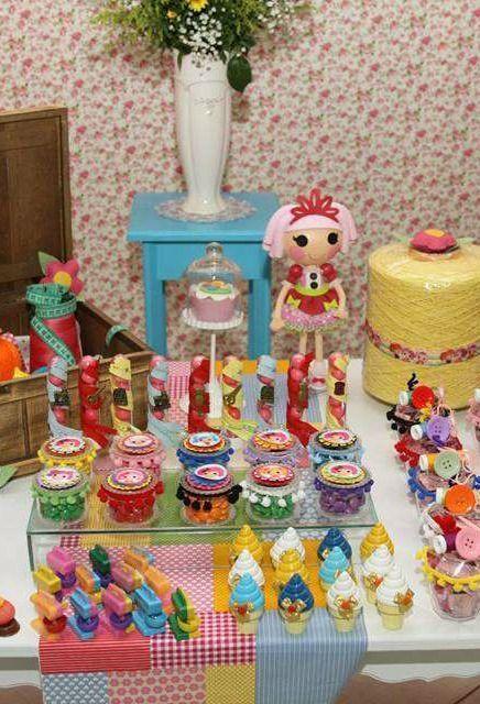 Ideas para fiesta de cumplea os de lalaloopsy decoracion - Fiesta cumpleanos infantil en casa ...
