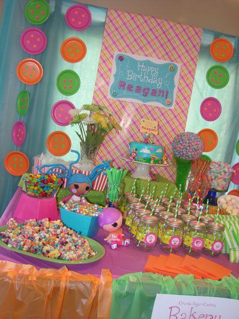 Ideas para Fiesta de cumpleaños de lalaloopsy  Curso de ...