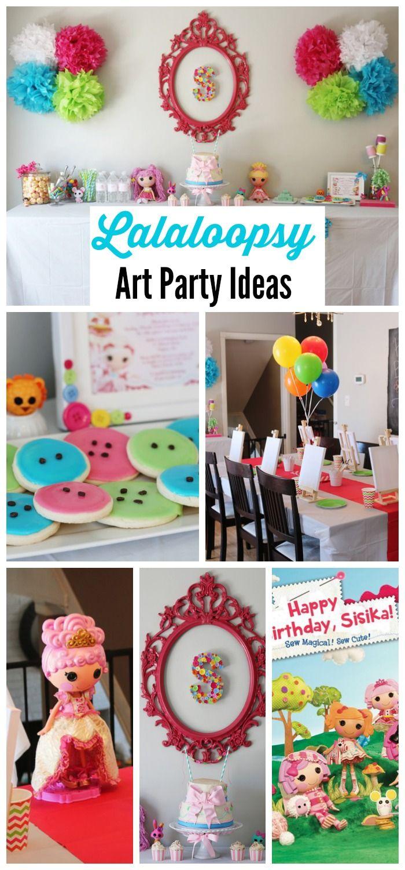 Ideas para fiesta de cumplea os de lalaloopsy - Menu para fiesta de cumpleanos en casa ...