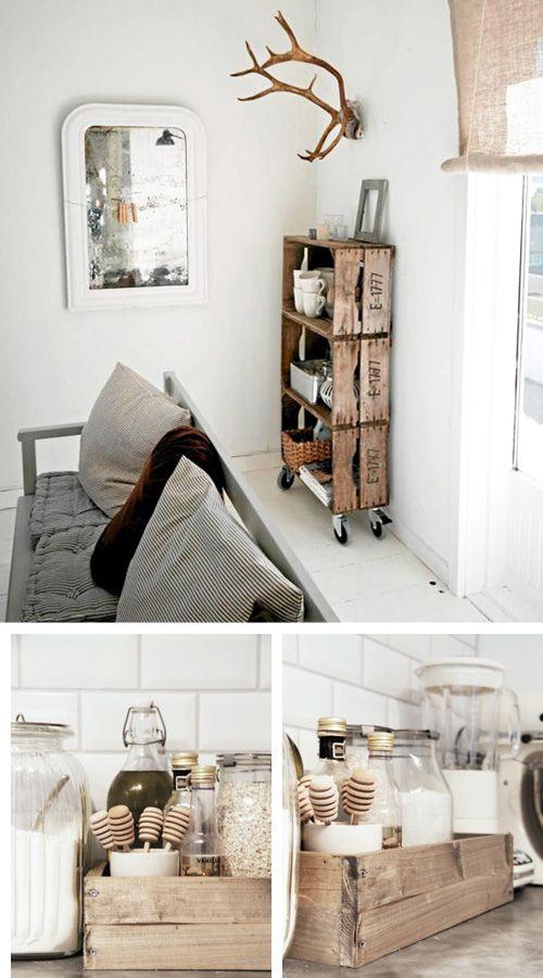 ideas reciclar cajas