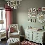 Ideas para decoración de habitacion les para bebés con detalles en gris