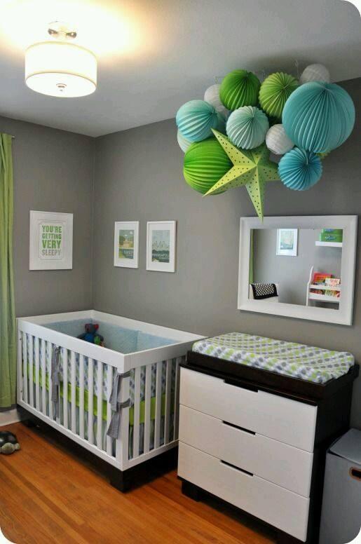 ideas para decoracin de habitacion les para bebs con detalles en gris with para decorar habitacion bebe