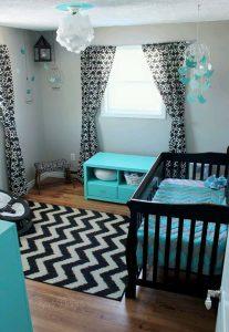 ideas para decoracin de habitacion les para bebs con detalles en gris