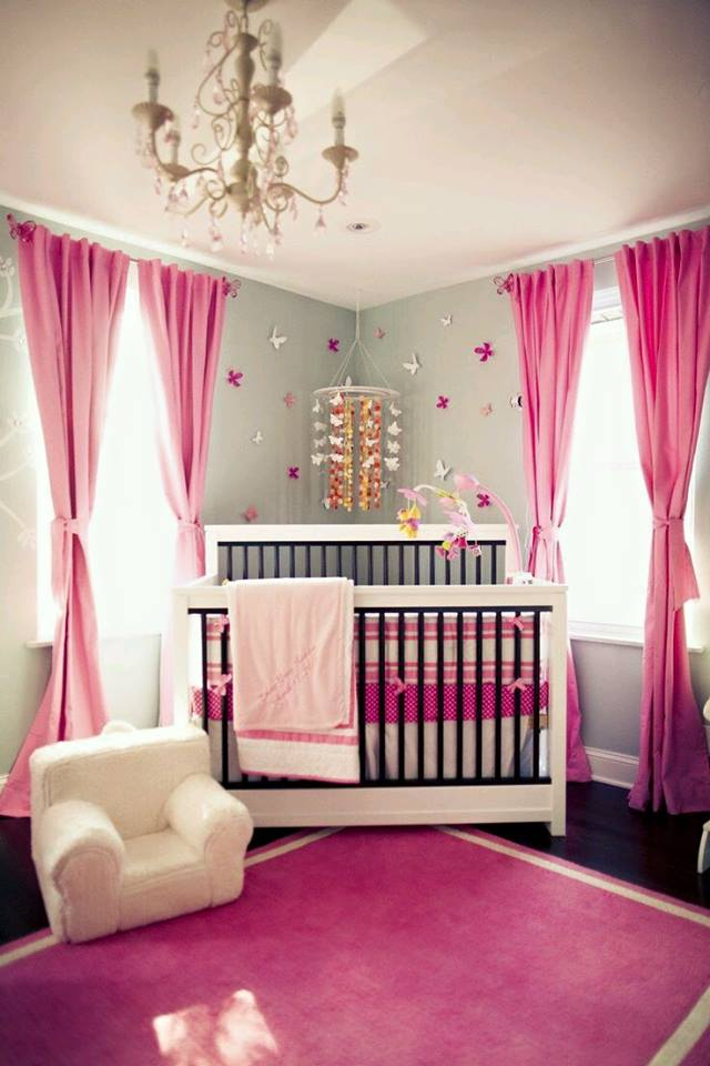Idées de décoration chambre que vous bébé avec des accents gris