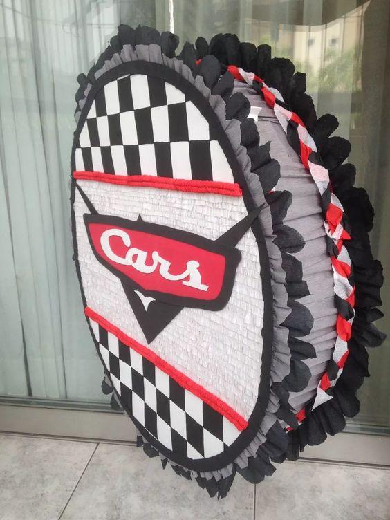 Piñatas para fiesta de cars
