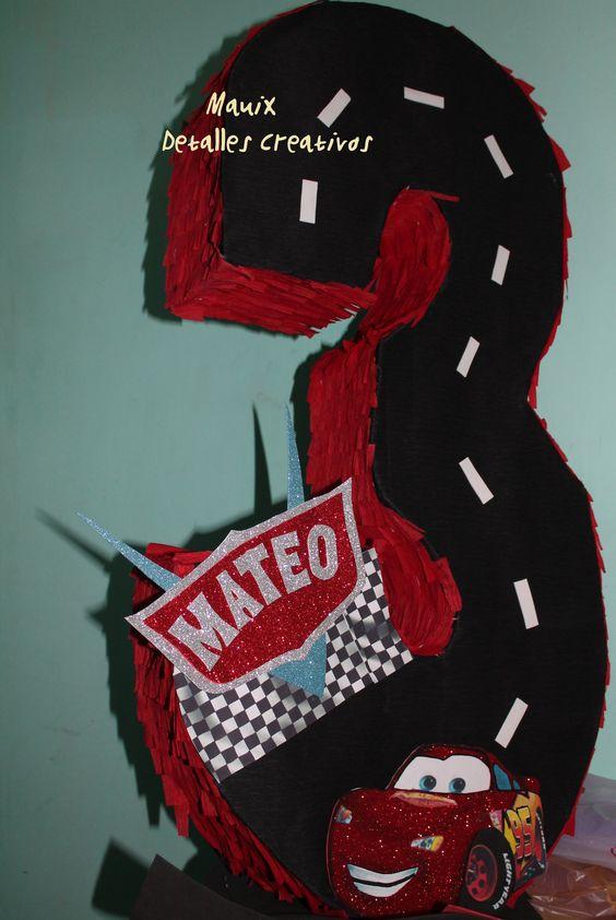 Piñatas de Cars Rayo McQueen