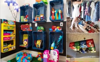 Ideas para Reciclar Cajas de Plastico