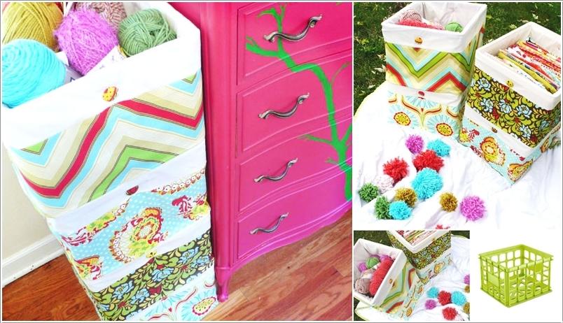 Ideas reciclar cajas de plastico decoracion de - Ideas para organizar la casa ...