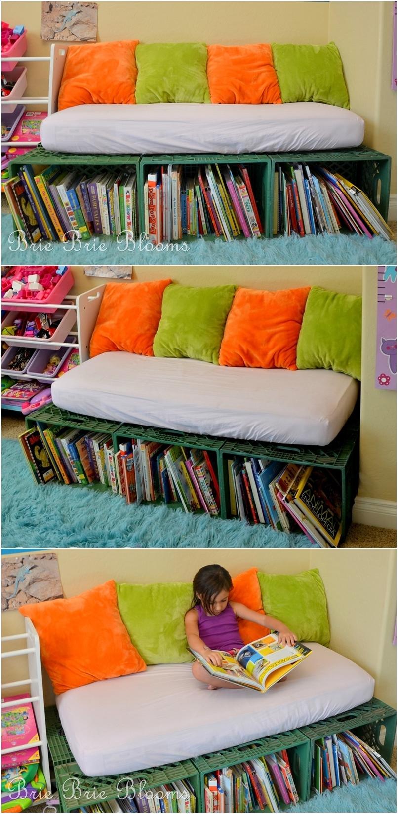 Reciclar cajas de plastico 1 decoracion de interiores for Raumgestaltung literacy