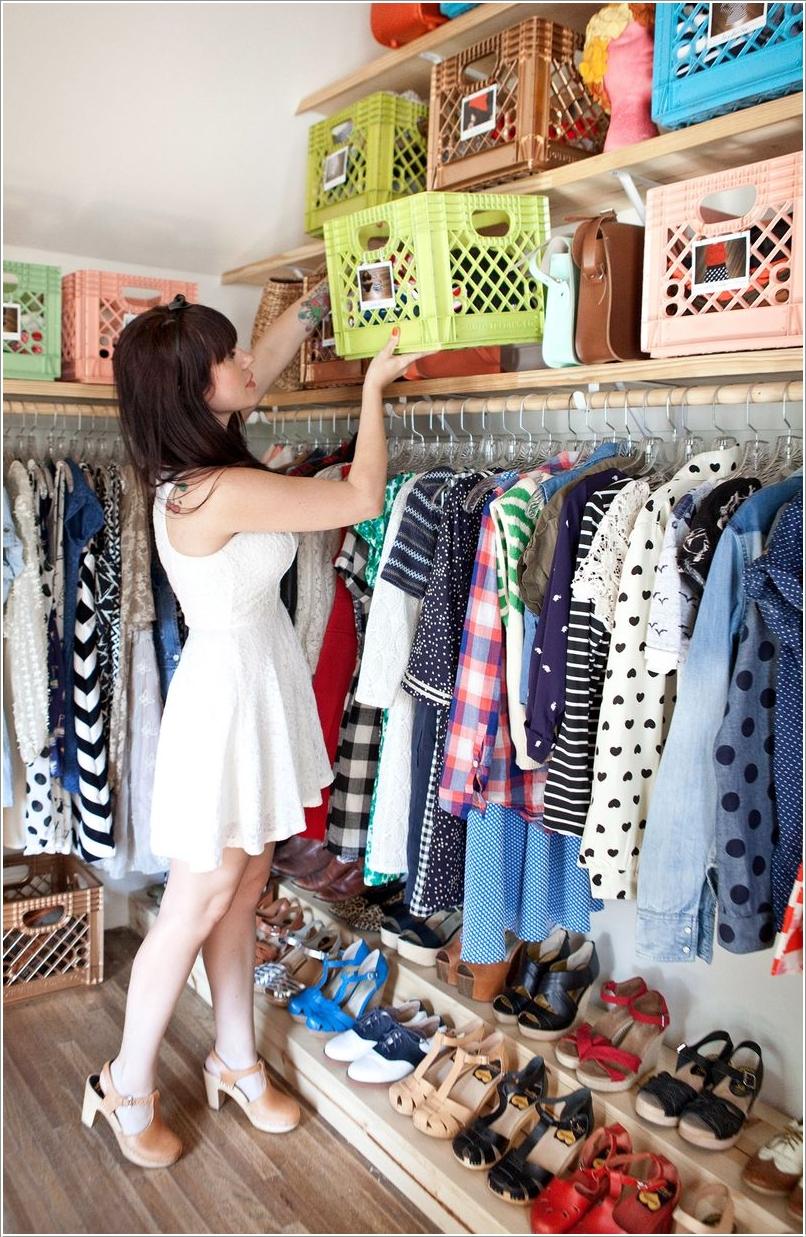 Put Away Clothes En Espanol ~ Ideas para reciclar cajas de plastico decoracion