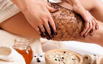 Exfoliante de Café Para Quitar La Celulitis