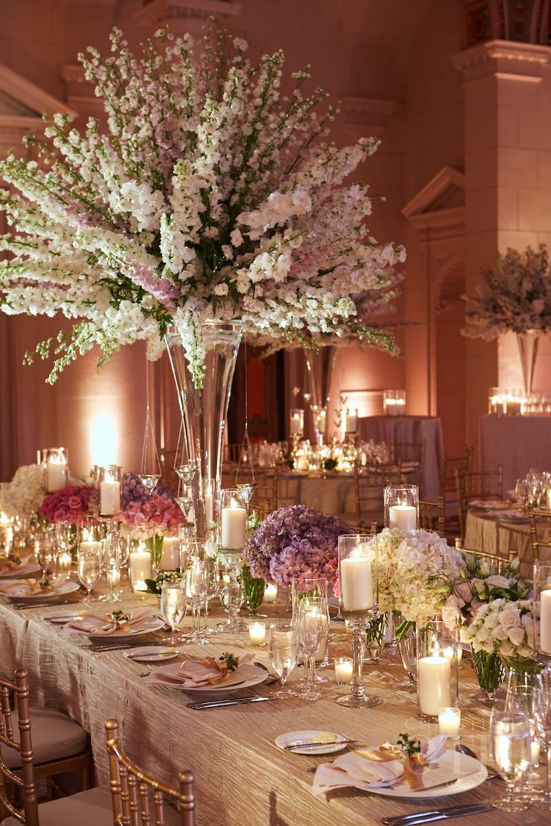Centros de mesa elegantes decoracion de interiores - Decoracion de mesas de centro ...