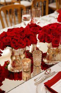 Centros de mesa Rojo (1)