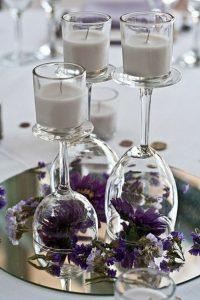 Centros de mesa con copas (1)