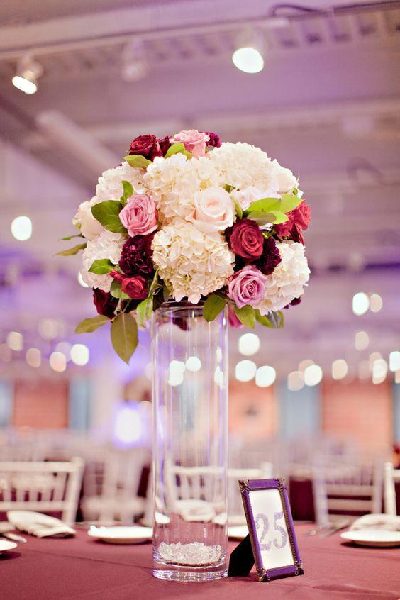 Centros de mesa con flores naturales 4 decoracion de for Centros de mesa con plantas naturales