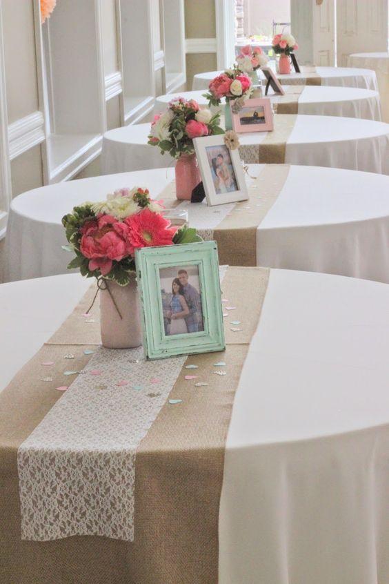 Centros de mesa con fotos (3)