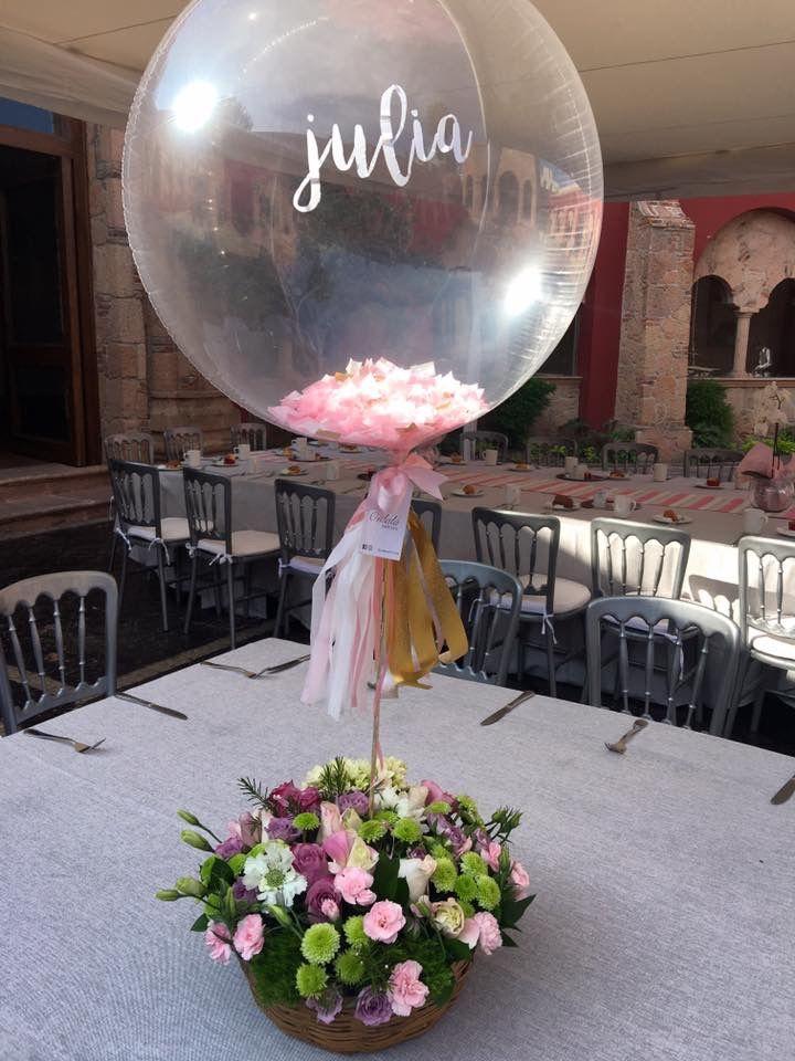 Centros de mesa con globos (3)